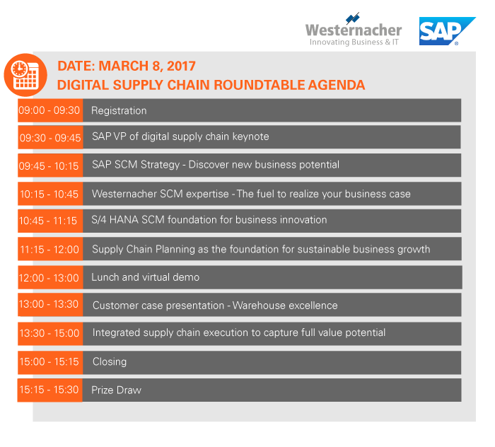 SCM Innovation Day Agenda