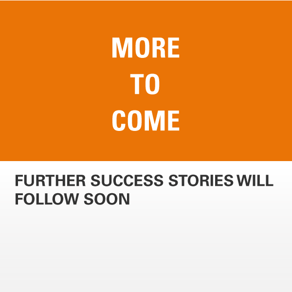 Success Stories More to come