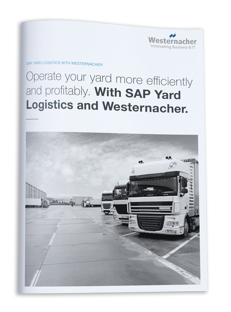 SAPYard Logistics SAP YL Westernacher Flyer