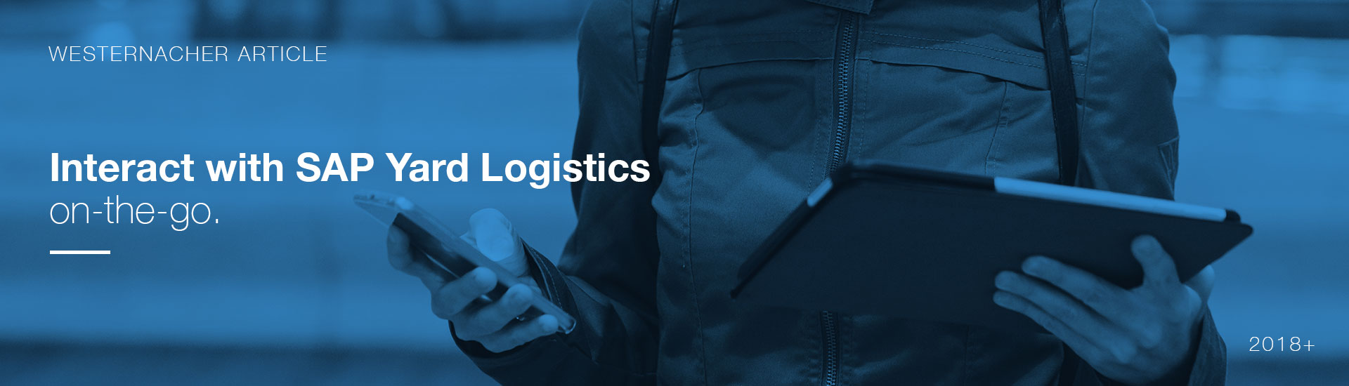 Mobile Communication with SAP Yard Logistics | westernacher-consulting.com