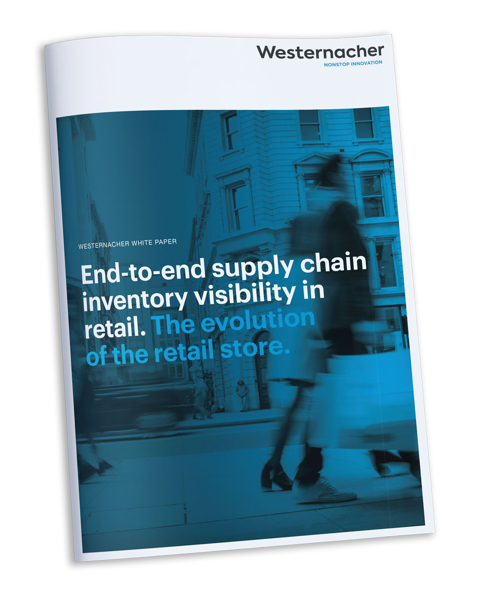 Retail with Westernacher: End-to-end supply chain inventory visibility in retail. The evolution of the retail store. Download our White paper.