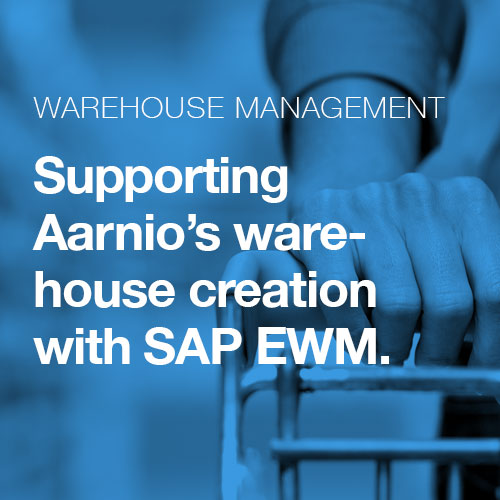 Westernacher Customer Success Story with Aarnio: SAP EWM