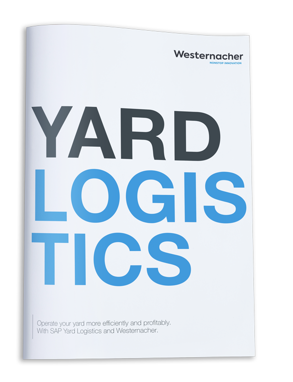 Operate your Yard more efficiently and profitably. With SAP Yard Logistics and Westernacher.